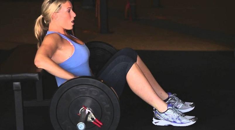Barbell Hip Thrust Deadlift alternative