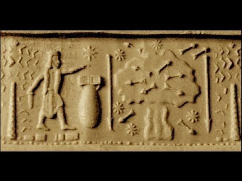 Atomic bomb ancient seal