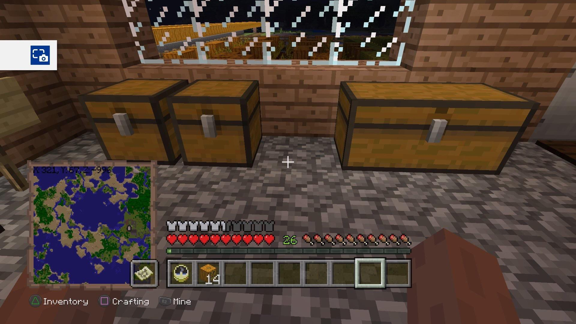 How to make a chest in minecraft